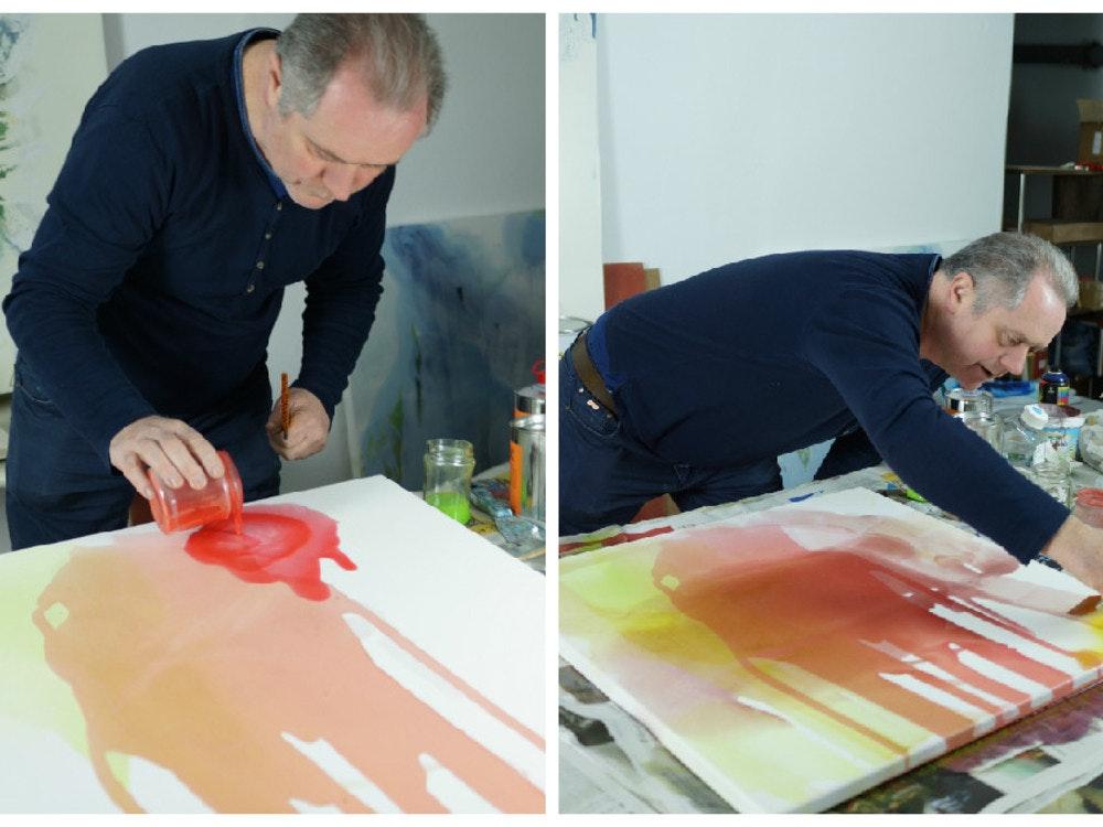 In The Studio With Fintan Whelan King Mcgaw